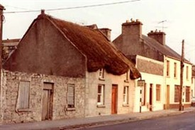 Photo:Only old photo I could find of New Street, in Ballinrobe, Co. Mayo